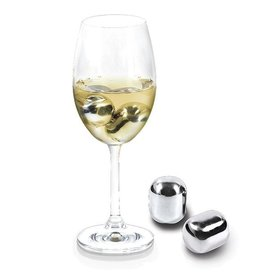 Stainless Steel Wine Pearls Set of 4