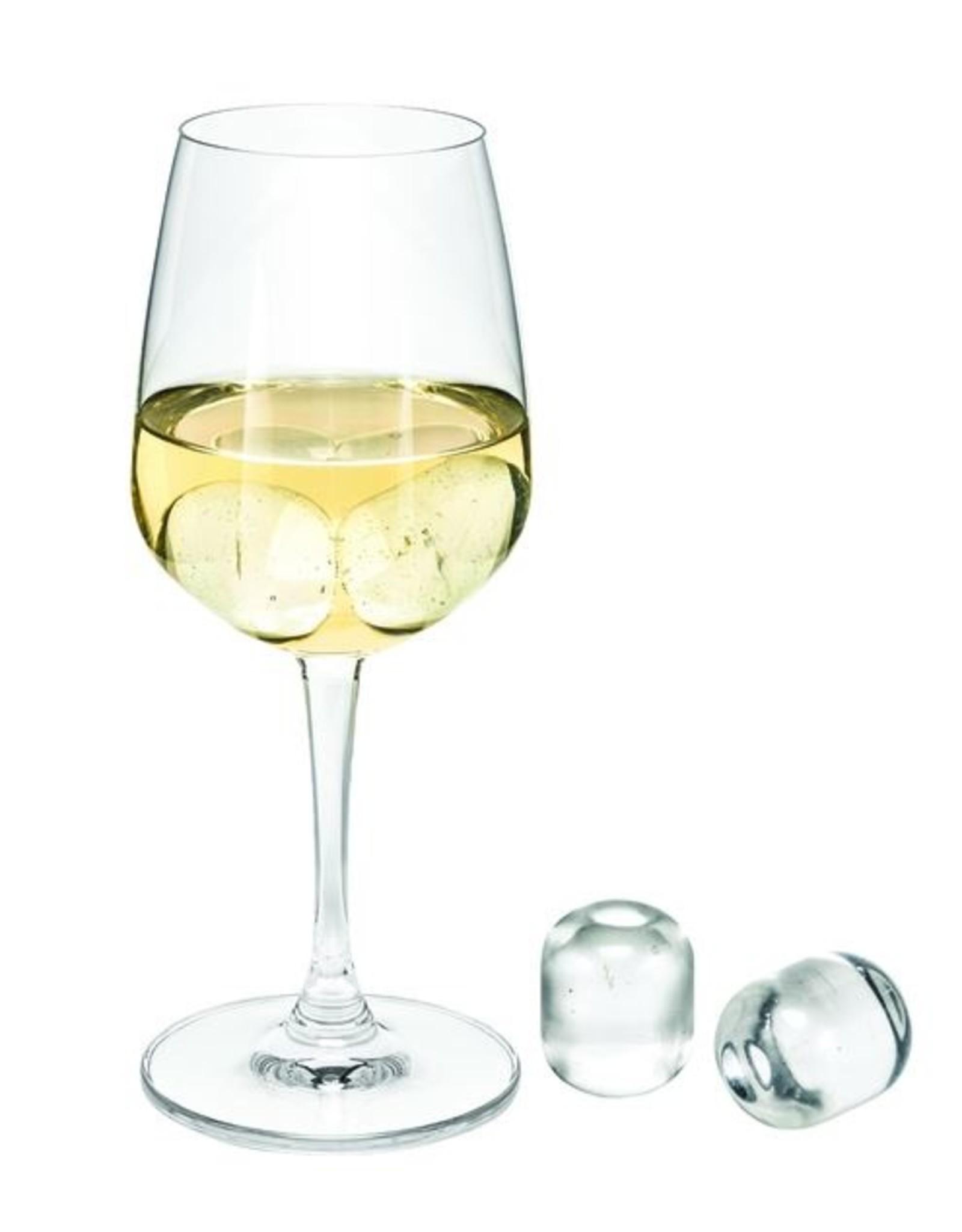 AVANTI CRYSTAL WINE/GIN PEARLS-SET OF 4