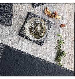 Ecology Dash Slate Square Coasters