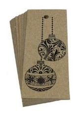 Natural Christmas Gift Tags