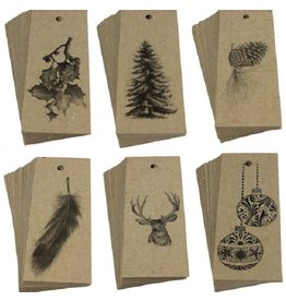 Natural Christmas Gift Tags