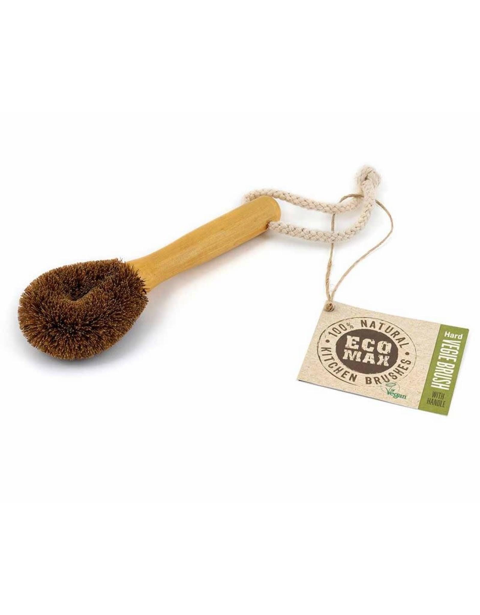 Eco Max Vege Brush Hard with Handle