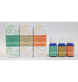 Maroma Spa Essential Oil Blends 10ml