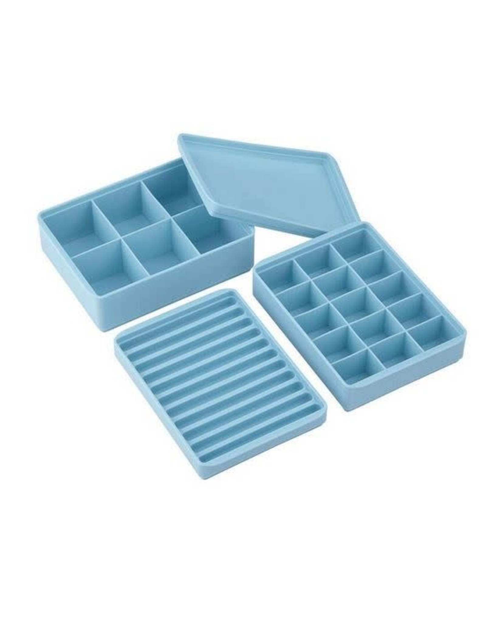 Davis & Waddell Stackable Ice Tray Azure