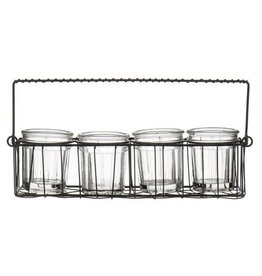 Amalfi Amalfi Chambord Mini Pots Caddy Set of 4