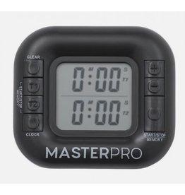 MasterPro Digital Dual Timer 99 Mins