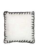 Amalfi Clifford Cushion Knitted with Blanket Stitch