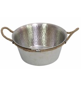 Drift Entertaining Bowl with Jute Handles