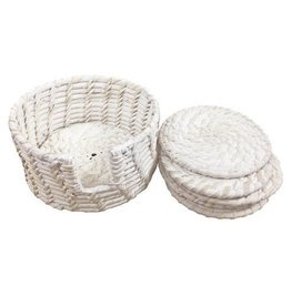 Pacifica Rattan Coaster Set of 6