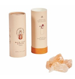 Wanderflower Amber Bath Salt Rocks