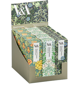 Victoria & Albert Museum V & A Hand Cream in Designer Vintage Packaging  50ml