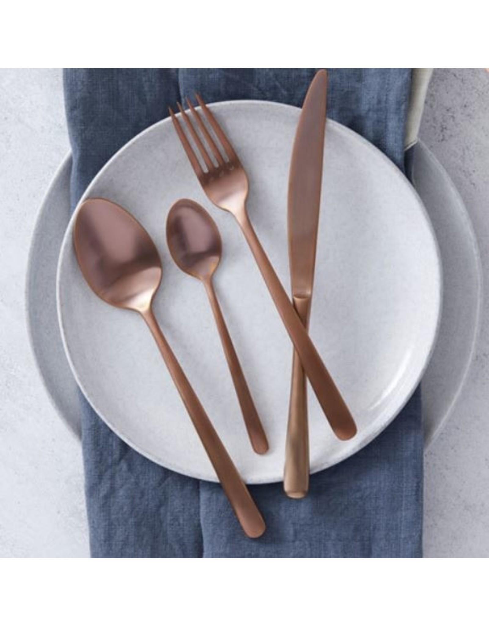 Amalfi Avery 16pc Cutlery Set Rose Gold