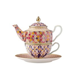 Kasbah 380ml Tea for 1 with Infuser Rose