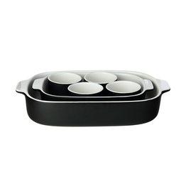 Maxwell & Williams Black 6 piece Baking Dish Set
