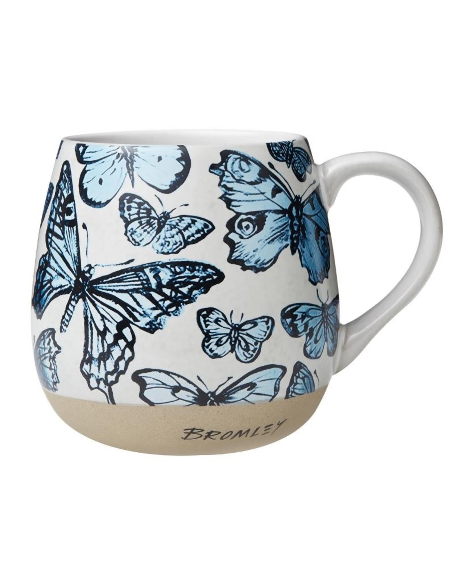 Robert Gordon Robert Gordon Bromley Hug Me Mug Blue Butterflies