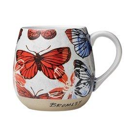 Robert Gordon David Bromley Gift Boxed Colourful Butterfly Hug Mug