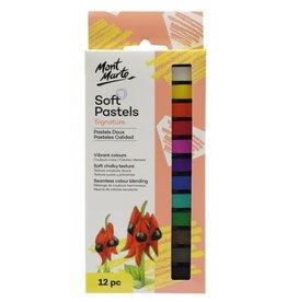 Mont Marte Mont Marte  Soft Pastels 12pc