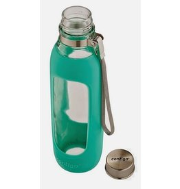 Contigo Purity Glass Water Bottle Jade