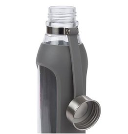 Contigo Purity Glass Water Bottle Smoke