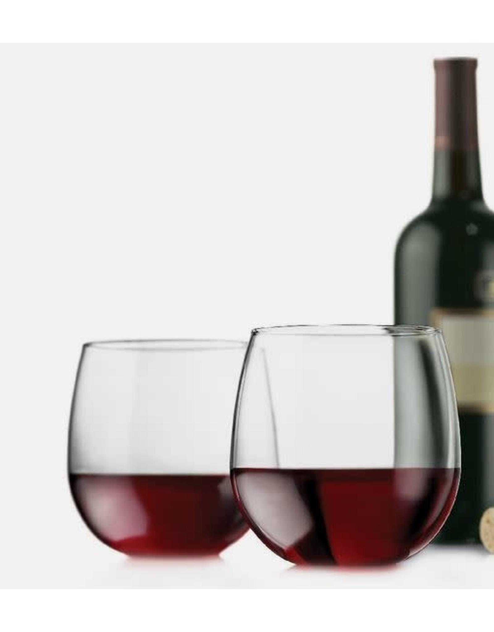 Libby Vina Stemless Red Wine S/4