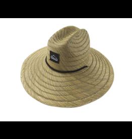 Mens  Hand Weave Rush Straw Hat