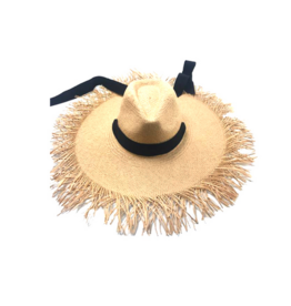 Womens Paper Straw Hat