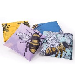 Recycled Foldable Bee Shopping Bag