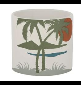 Island Ceramic Pot 16 x 16cm