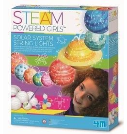 4M Steam Powered Girls Solar System Toy String Lights