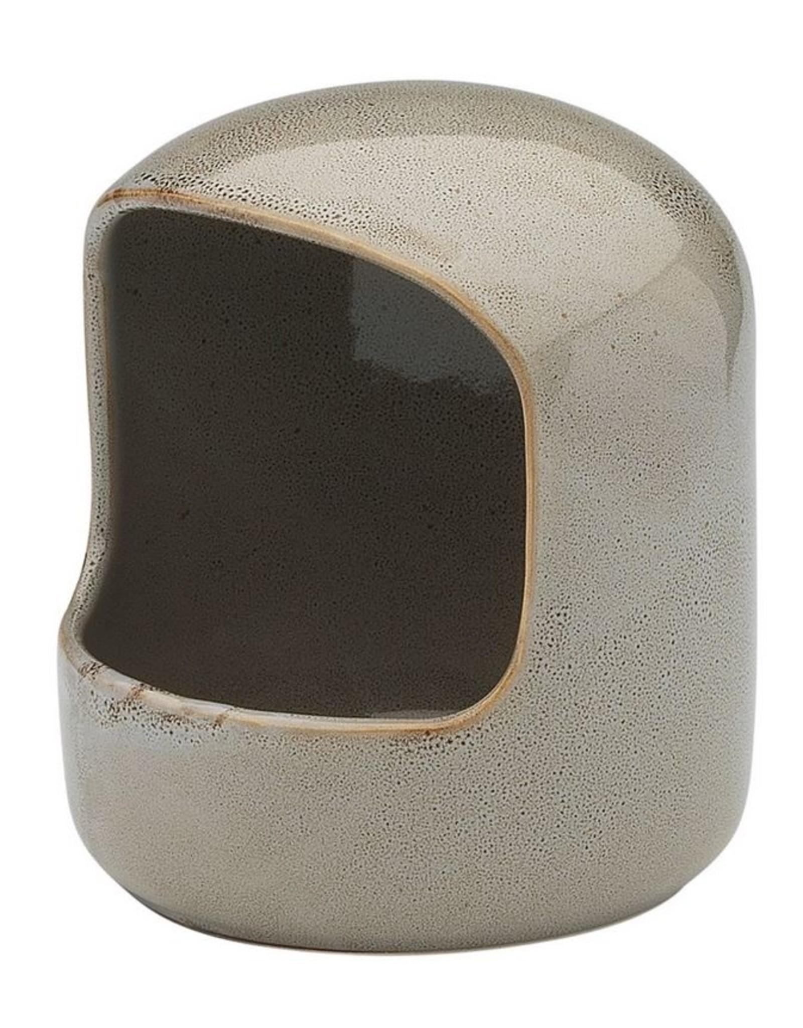 Ecology Mineral Stoneware Salt Pig Overcast