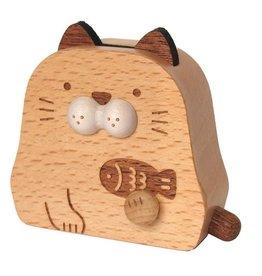 Wooderful Life Cat Mini Music Box