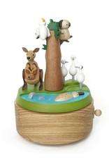 Wooderful Life Safari Park Australian Music Box