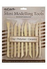 Mont Marte Mont Marte  Mini Modelling Tools Boxwood 10pc