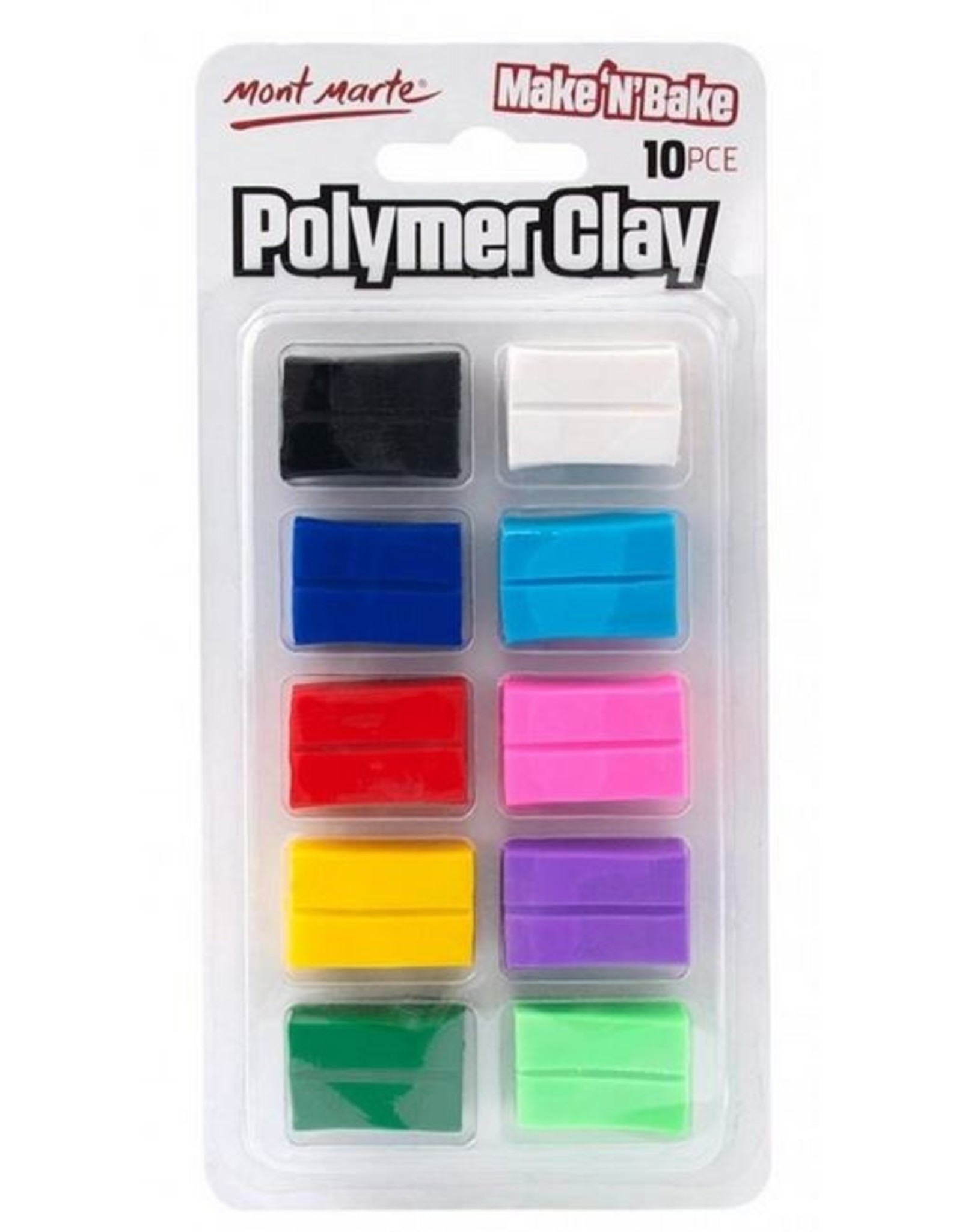 Mont Marte Mont Marte  Make n Bake Polymer Clay 10pc
