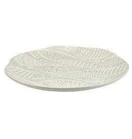 Como Round Ceramic Platter 33cm