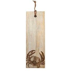Ahoy Crab Serving Board Natural 15 x 45cm