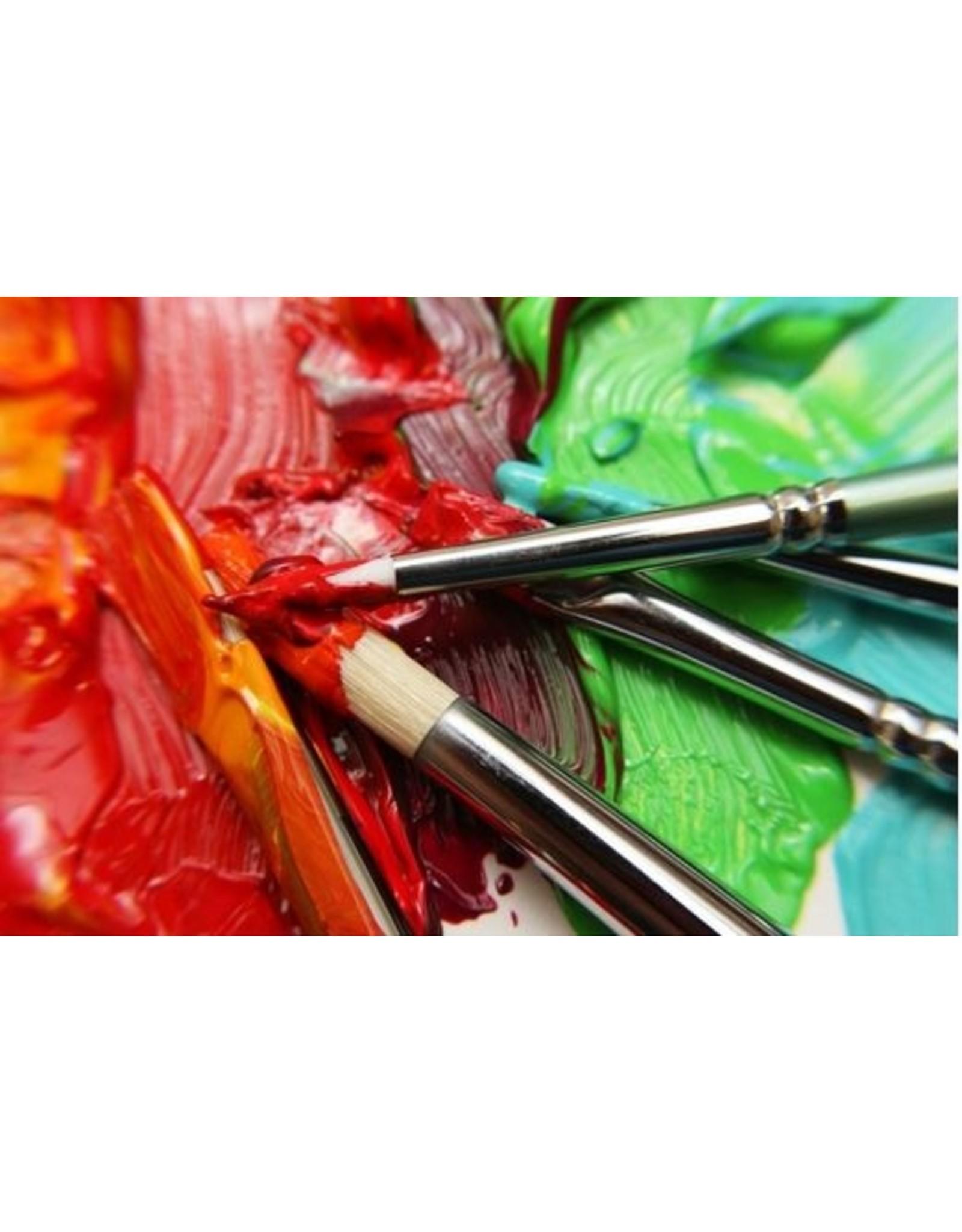 Mont Marte Mont Marte Gallery Series Brush Sets Oil 6 Pieces