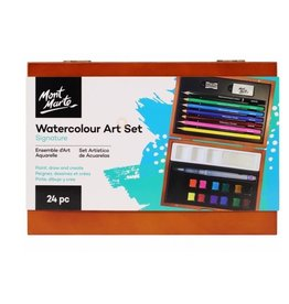 Mont Marte Mont Marte  Watercolour Art Set 24 Pc