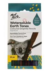 Mont Marte Mont Marte  Graphite Earth Tones 12pc