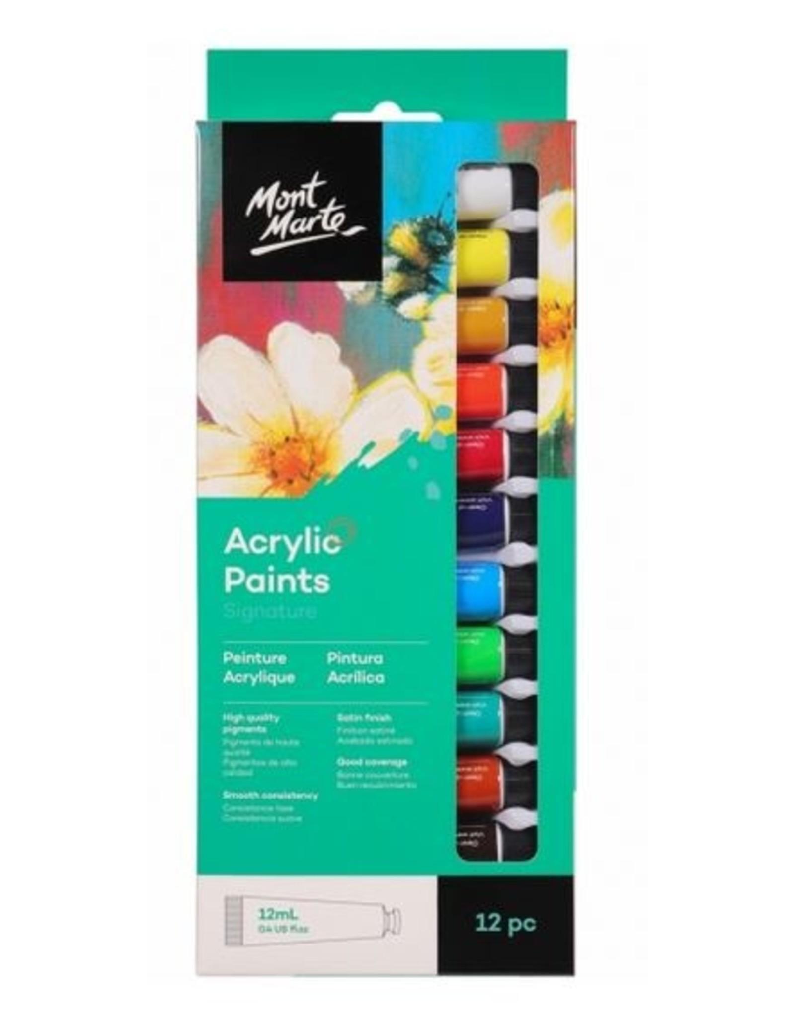 Mont Marte Mont Marte 12ml Acrylic Paint Set