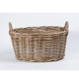 Rattan Kubu Laundry Washing Basket