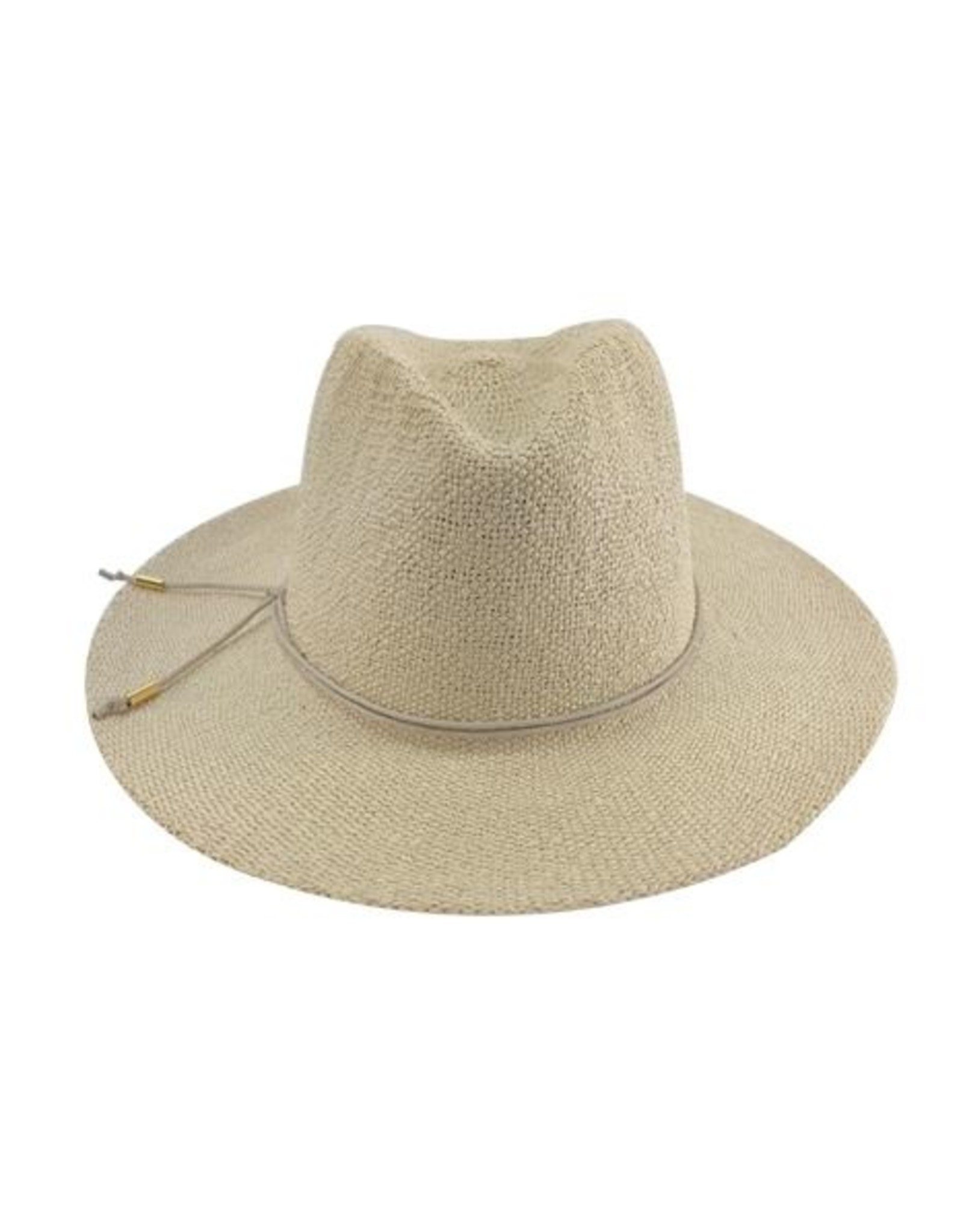 Womens Hand Knit Paper Straw Panama Hat