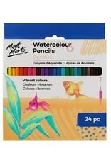 Mont Marte Mont Marte  Watercolour Pencils 24pc