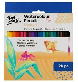 Mont Marte Mont Marte  Watercolour Pencils 24pc