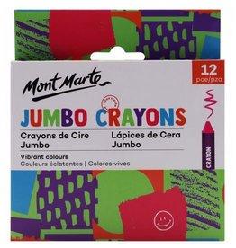 Mont Marte Mont Marte  Jumbo Crayons 12pce