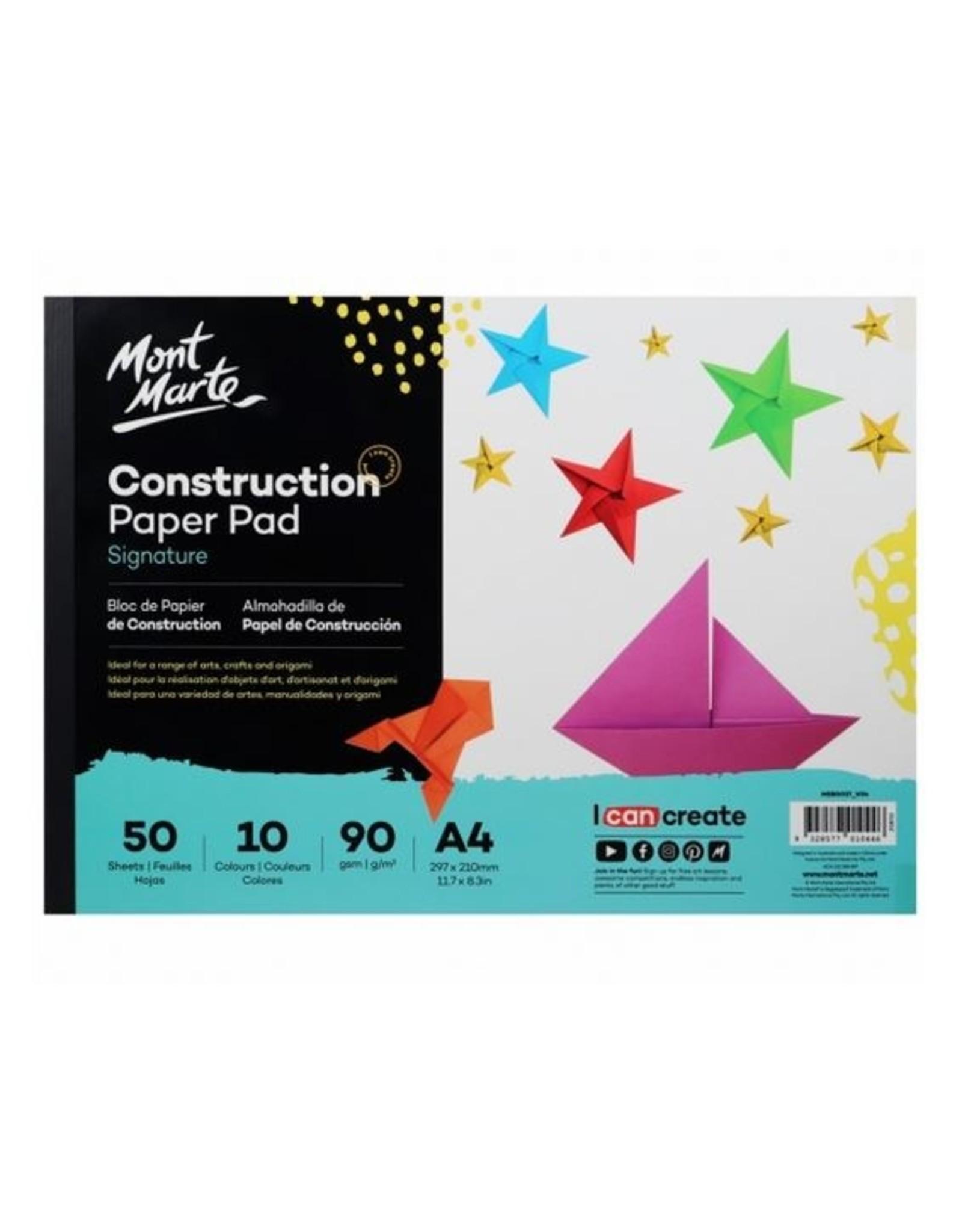 Mont Marte Mont Marte Signature Construction Paper 50 Sheets