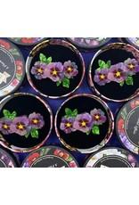 Erstwilder Purple Prose Brooch