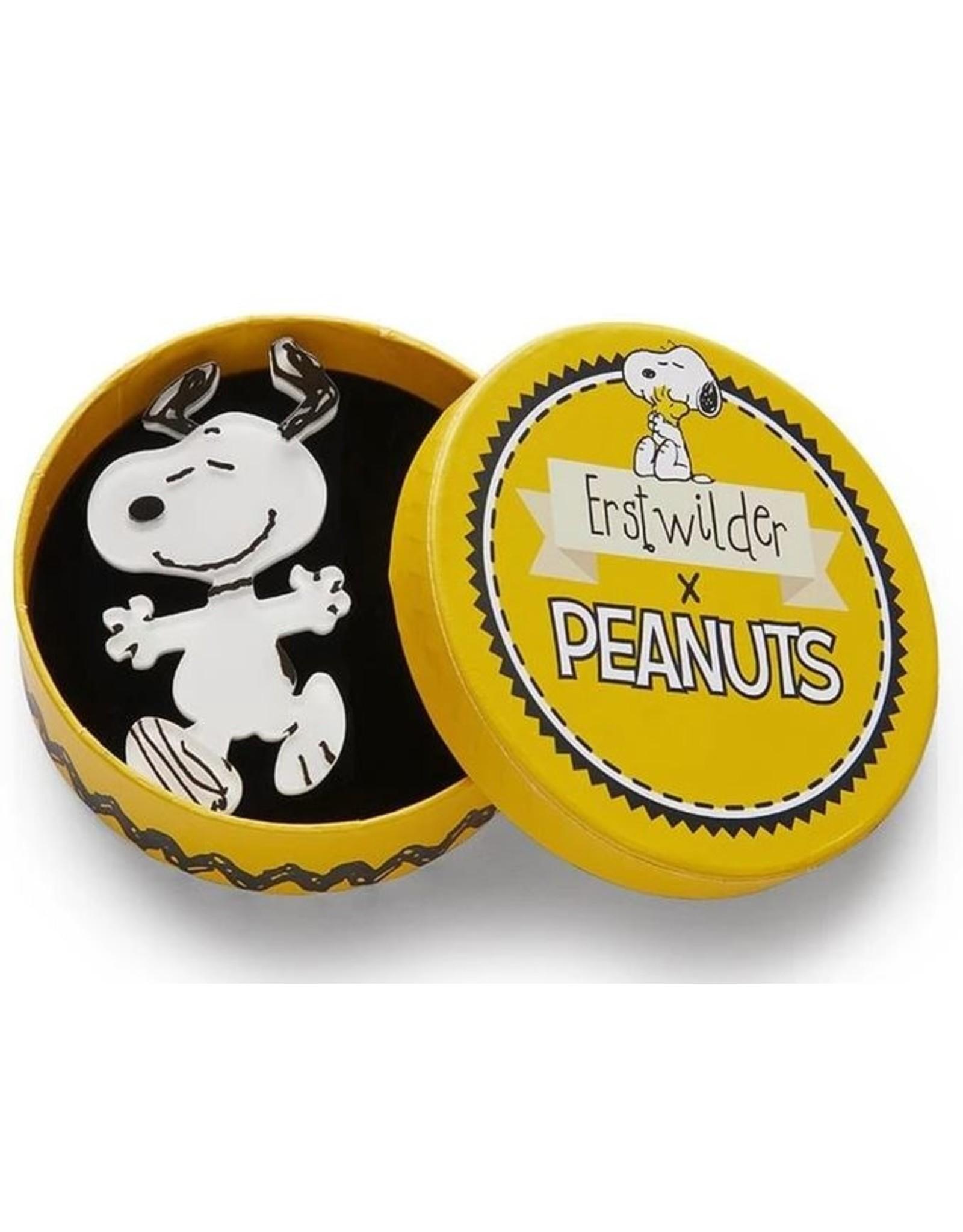 Erstwilder Erstwilder Peanuts Brooch Range Time To Dance