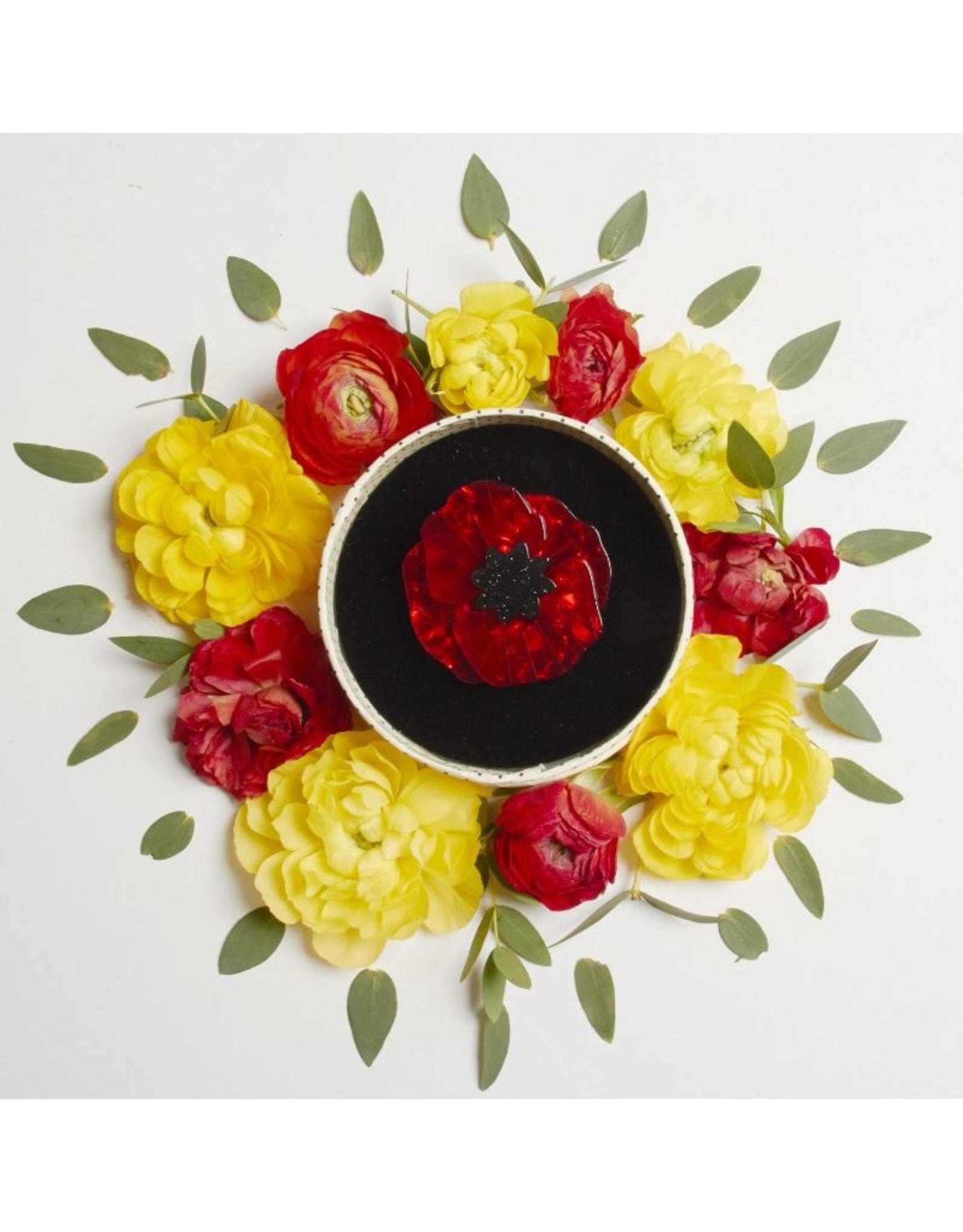 Erstwilder Poppy Field Brooch