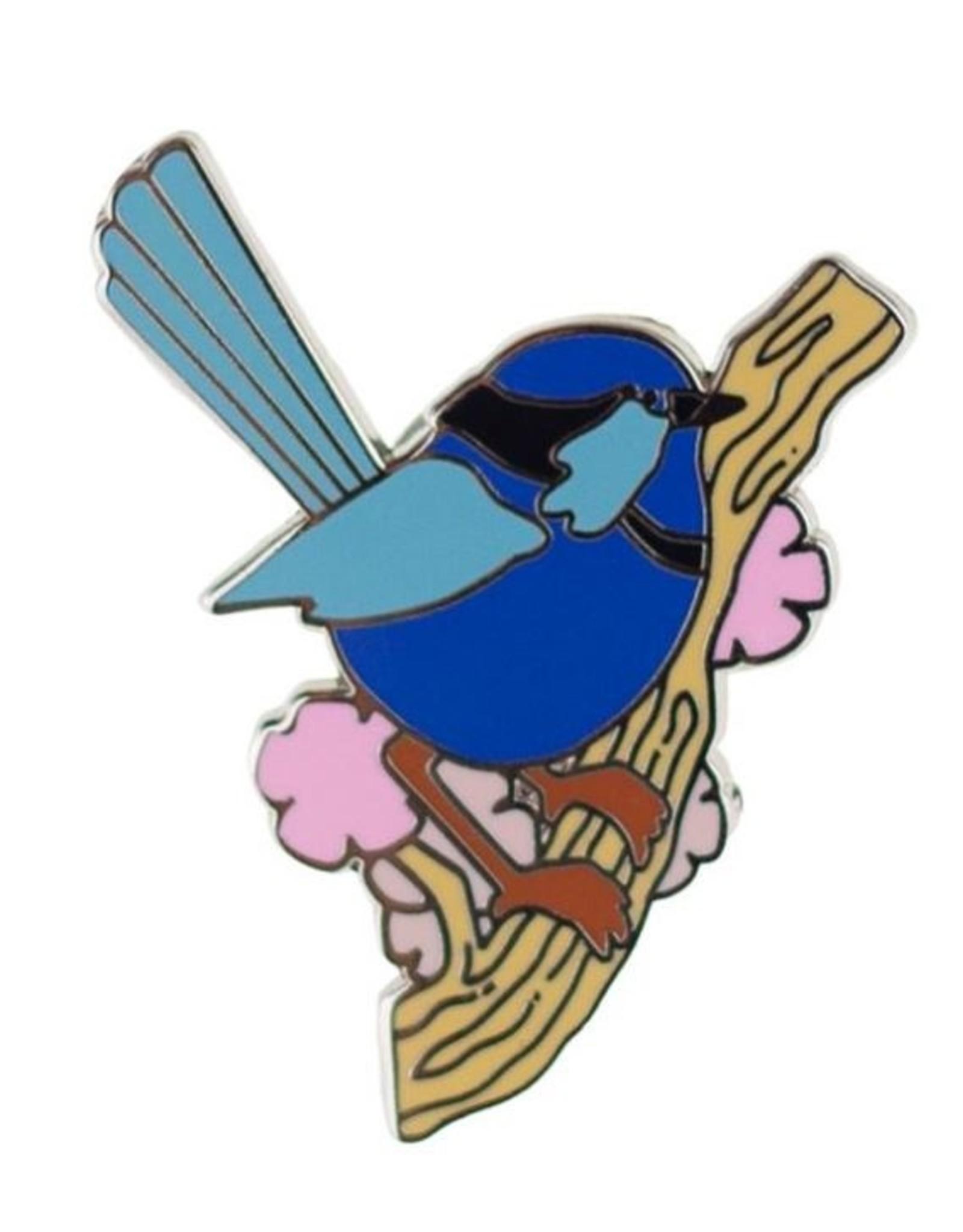 Erstwilder Phoebe the Fairy Wren Enamel Pin